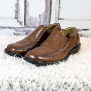 Docker's ProStyle Shoes Men's 8.5M Brown Leather